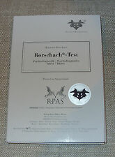 Rorschach Psychodiagnostic Inkblot Test Plates Hermann Rorschach, Set of 10