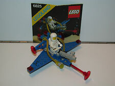 LEGO SPACE No 6825 COSMIC COMET 100% COMPLETE + INSTRUCTIONS - 1980s