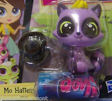 Littlest Pet Shop Mo Hattenson with Black Hat OUT OF PACKAGE #3951