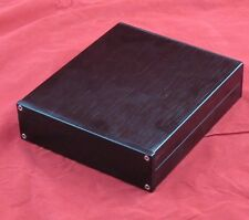 Black Aluminum case for headphone amplifier preamp chassis 146*42*168 Blank