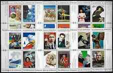 Canada -Complete Set of 17 Panes of 4 -The Millennium Collection #1818-34 -MNH