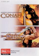 CONAN THE BARBARIAN / DESTROYER 1 - 2 : NEW DVD