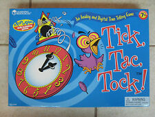 BRAND NEW Learning Resources : Tick, Tac, Tock! Time Telling Game - LER 5058