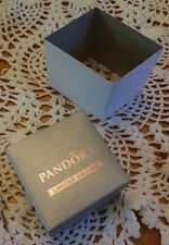 "AUTHENIC PANDORA JEWELRY LIMITED EDITION SILVER ""CHARM GIFT BOX ONLY"" W/SLEEVE"
