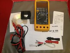 FLUKE 189 DIGITAL TRMS MULTI-METER VERY NICE and LOADED with PREMIUM EXTRAS