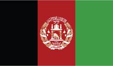 Afganistán Bandera pegatina de vinilo República Islámica de Afganistán Bandera 10cm X 6 Cm