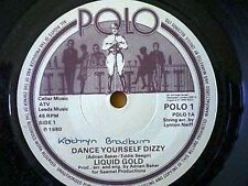 LIQUID GOLD = DANCE YOURSELF DIZZY / INSTRUMENTAL - 1980 POLO RECORDS - EX VINYL