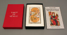 TAROT JACQUES VIEVILLE  DECK & BOOK SET -  REPLICA 17th CENTURY TAROT - NIB