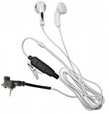 Motorola MTH800 POLICE/AIRWAVE COVERT MP3 WHITE EARPHONE EARPIECE