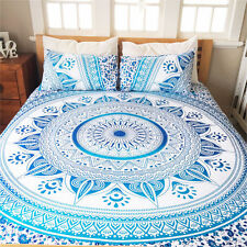 Hippie Tapestry Indian Ombre Mandala Twin Wall Hanging Gypsy Throw Bedspread
