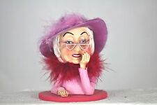 COOL LADY RING HOLDER - FUN GIFT - GLAMOROUS GRANNY - UNUSAL ORNAMENT