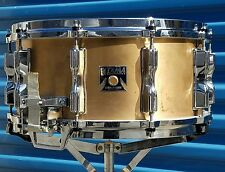 1983 Tama Bell Brass Snare Drum 6.5x14 (with hard case). Low World shipping!