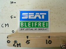STICKER,DECAL SEAT BLEIFREI CAR AUTO