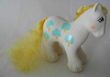 Mi pequeña My Little Pony personaje vintage 1987 china-Daddy Apple Delight #-1