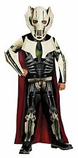 NEW Star Wars General Grievous Costume With Mask Size Large For Kids By Rubie's