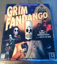 "*RARE*  NEW ""GRIM FANDANGO"" LucasArts PC Windows 95/98  STILL FACTORY SEALED BOX"