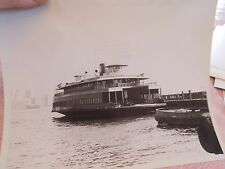 1965 Somerville Ferry New Jersey Central NJC RR Boat NY Harbor