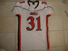 VINTAGE LOUISVILLE CARDINALS FOOTBALL GAME CUT ISSUE WILSON Authentic JERSEY XL