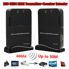 60G HDMI Wireless Extender AV Video Transmitter Receiver WIHD Cableless HDCP2.0