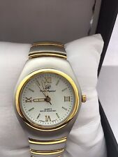 Charles  Raymond Men's  Analogue Quartz Easy To Read Gold  Tone Bracelet Watch