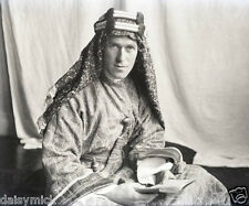 T E Lawrence of Arabia Portrait World War 1, 6x5 Inch Reprint Photo