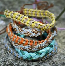 Friendship Bracelets wholesale 40 Hemp Cotton Woven Fair Trade Gift  Wristband