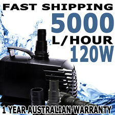 Biopro Aquarium Fish Tank Submersible Aqua Fountain Pond Water Pump 5000lph