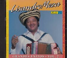 Lisandro Meza Grandes Exitos Vol 2 CD New Nuevo