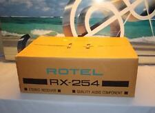 ROTEL RX-254 Stereo Receiver Amplifier with box
