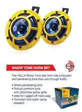 HELLA H31000001 114dB 12V Sharptone Dual Horn Yellow Extremely Loud Street Legal