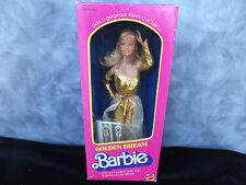 Golden Dream Barbie Vintage Quick Curl 1980 NRFB MIB