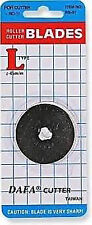 45mm DAFA Rotary Cutter Spare Replacement Blade Fits All Cutters Including Olfa!