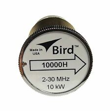 Bird 10000H Plug-in Element 0 to 10,000 watts 2-30 MHz for Bird 43 Wattmeters