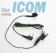 Earpiece for Icom IC-U82 IC-V8 IC-F12 F14 F21 Midland 75-501 75-810 4-004SL