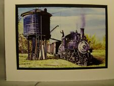 Southern Pacific Narrow Gauge Water Tower Laws Ca Artist Railroad Archives ee