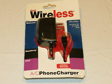 Just Wireless A/C Phone Charger Motorola Blackberry HTC cell phone NEW#