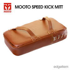 MOOTO Speed Kick Mitt TaeKwonDo Training Leather Target Pad Kicking TKD MMA