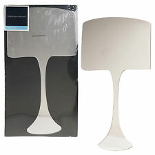 Graham & Brown Acrylic Lamp Shape Designer Wall Mounted Mirror Cupboard Dresser