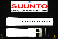 Suunto Elementum Ventus ORIGINAL White Rubber Watch BAND Strap Kit