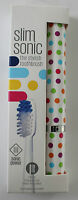 Slim Sonic Classic Electric Travel Toothbrush - Confetti - from Violife