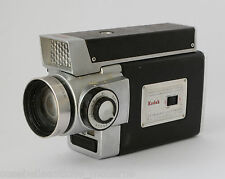 Macchina Fotografica Vintage Original Kodak Zoom 8 Reflex Camera with Field Case