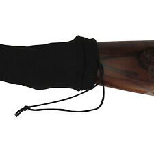 "UK SELLER 52"" GUN SOCK SILICONE TREATED SHOTGUN RIFLE SHOOTING BLACK SLIP CASE"