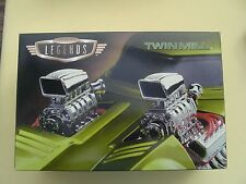 HOT WHEELS  LEGENDS TWIN MILL =  2 CAR SET 1/24 and 1/64  NEVER OPENED