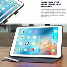 Apple iPad Pro 9.7 Case Cover Pencil Holder Compatible W / Apple Smart Keyboard