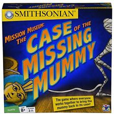 SMITHSONIAN - MISSION MUSEUM: THE CASE OF THE MISSING MUMMY {New} Board Game