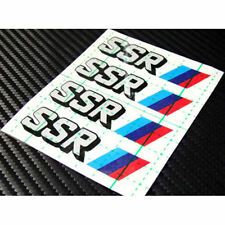 SSR Reflect Wheel Sticker 4p 1set For Universal fit