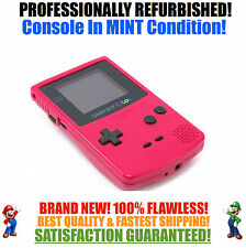 *NEW GLASS SCREEN* Nintendo Game Boy Color GBC Berry System MINT NEW