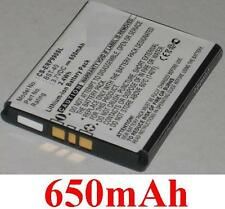 Batterie 650mAh type BST-40 Pour SONY ERICSSON P1 P1c P1i P700i