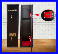 Ultimate Safe® 5 Shotgun Rifle Extra Wide & Deep Gun Safe Cabinet With Ammo Box