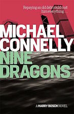 MICHAEL CONNELLY __ NINE DRAGONS _ RED COUVERTURE __ NEUF __ FREEEPOST GB